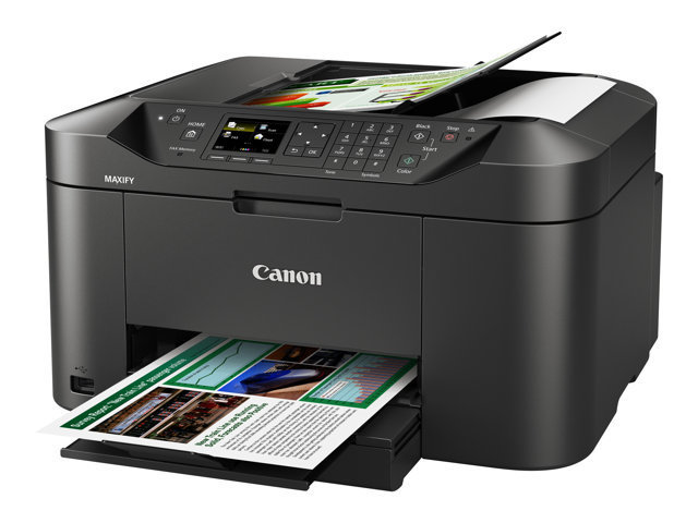 Canon Maxify MB2050 print, copy, scan, fax, Wi-Fi, Duplex, Airprint, 16ppm mono, 11ppm colour, A4