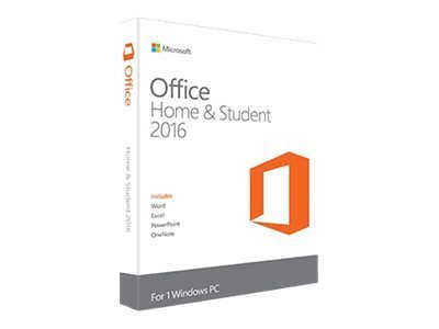 Microsoft Office Home and Student 2016 32/64 bit - Electronic Software Download (ESD)