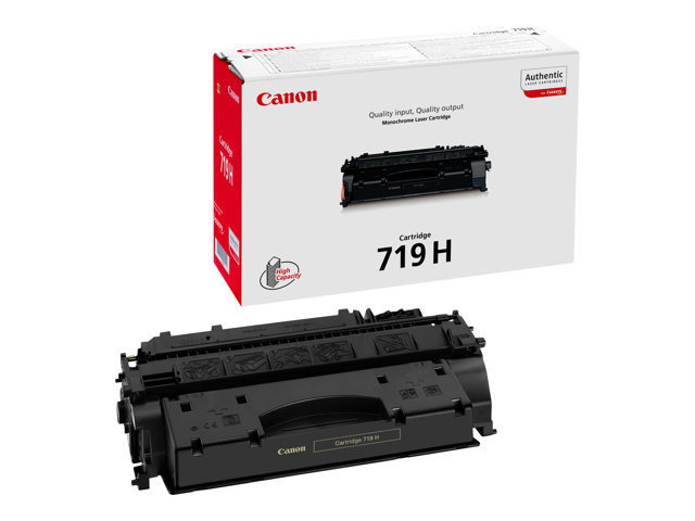 Canon 719 H - Black - original - toner cartridge - for ImageCLASS MF5980; i-SENSYS LBP6310, LBP6670, LBP6680, MF5940, MF5980, MF6140, MF6180