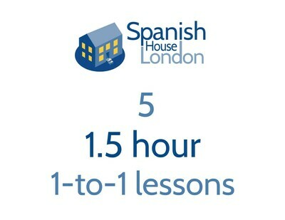 Five 1.5 hour 1-to-1 lessons