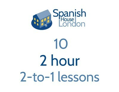 Ten 2-hour 2-to-1 lessons