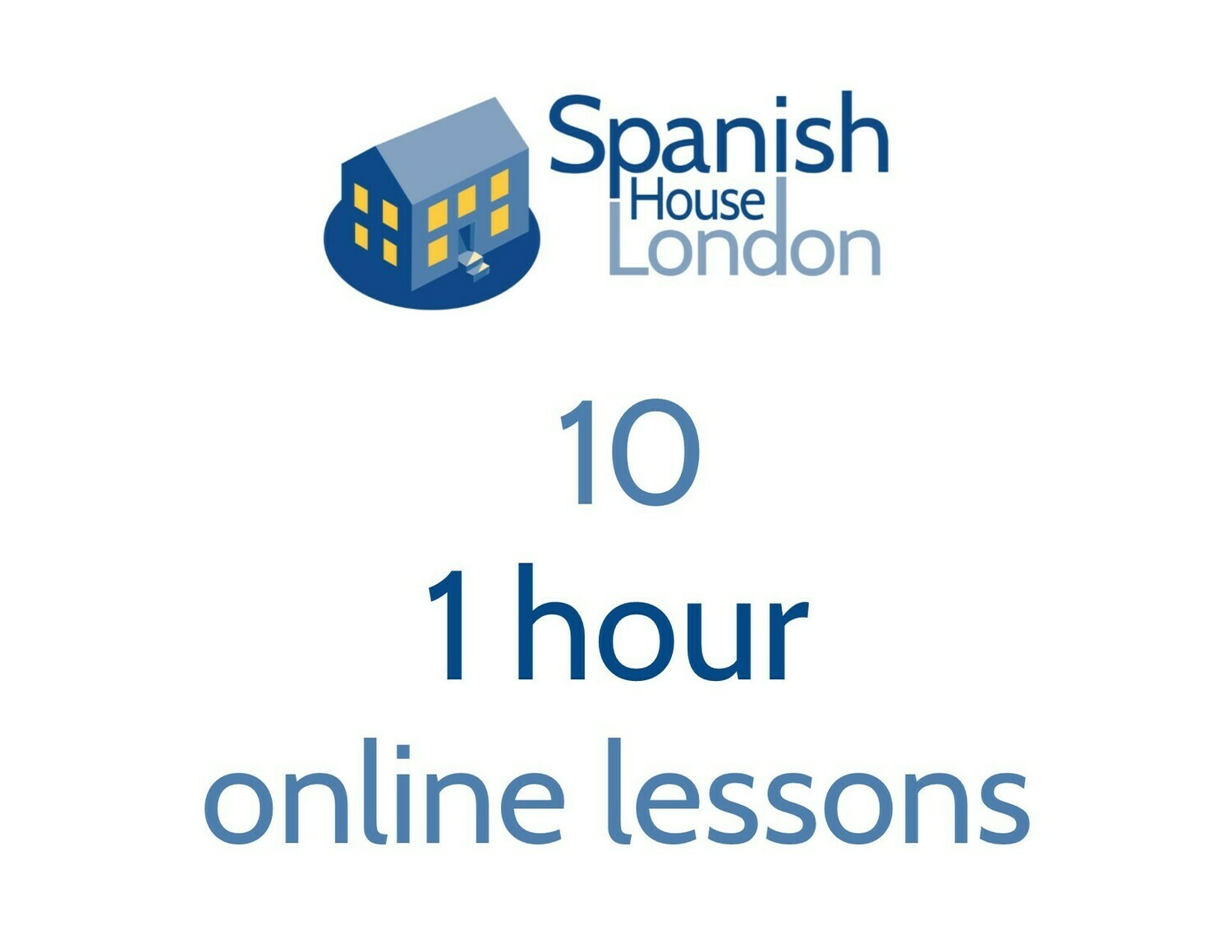 Ten 1 hour 1-to-1 Online Lessons