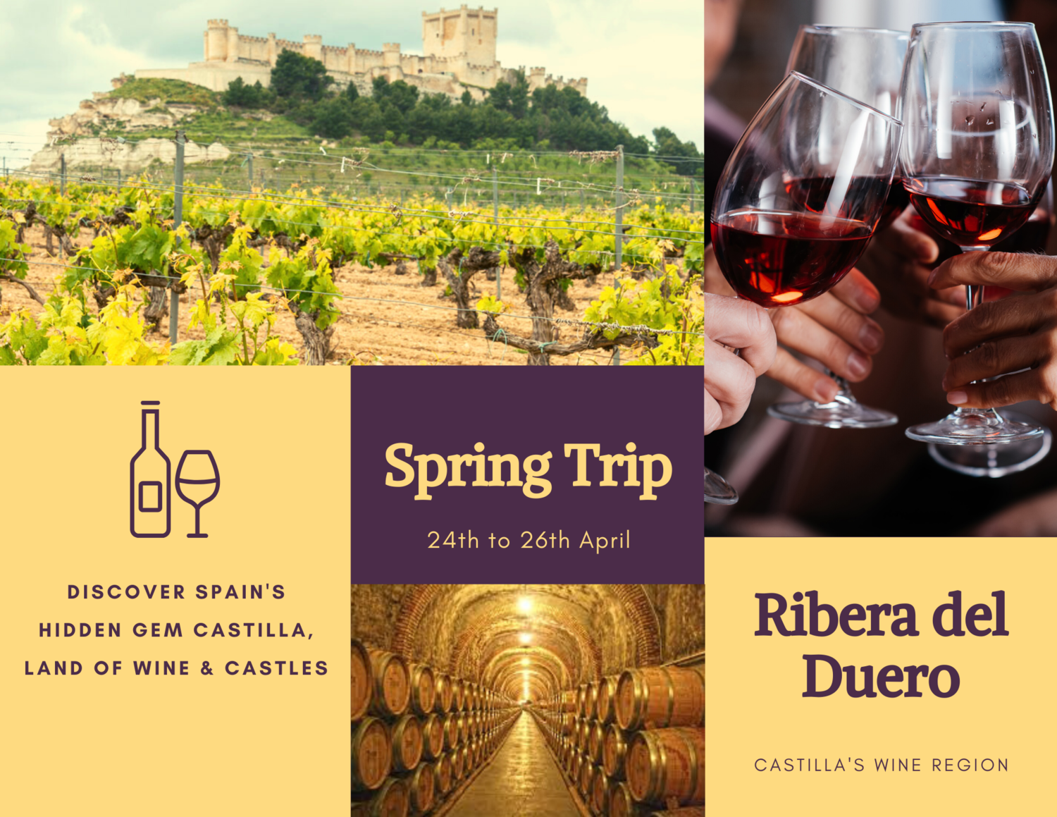 Trip Ribera del Duero - 24th to 26th April