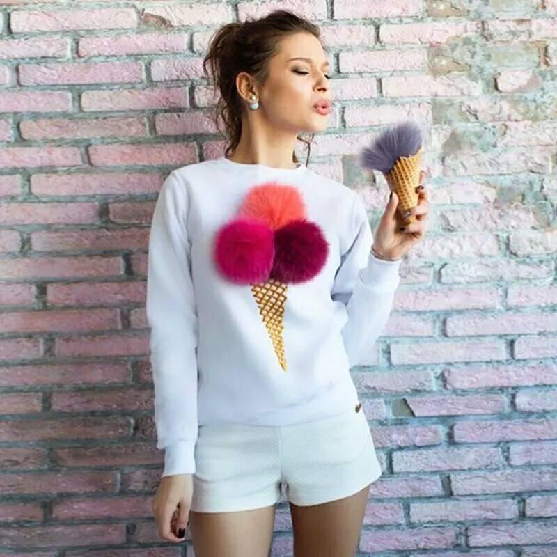 Ice Sweater white 00773