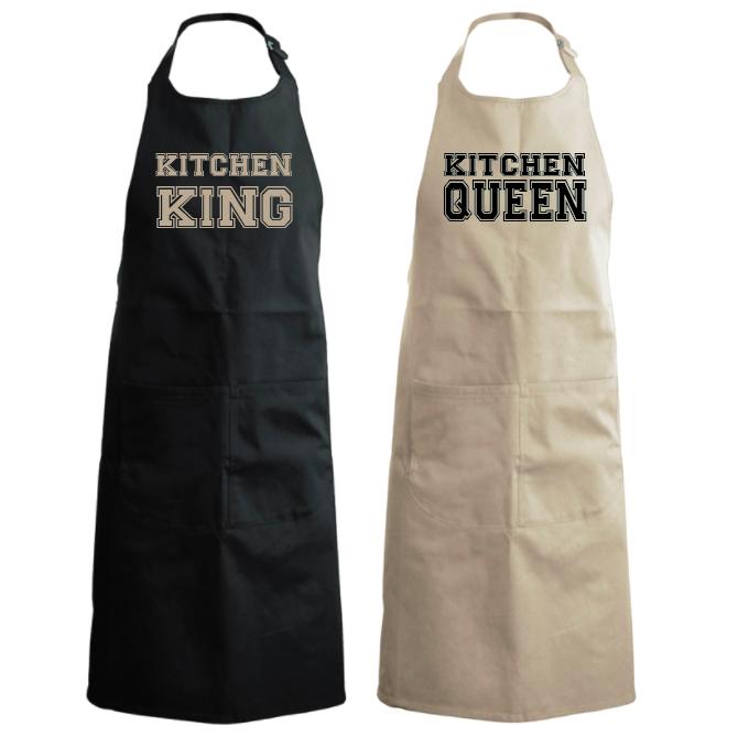 Kitchen King & Queen (set van 2) 01138
