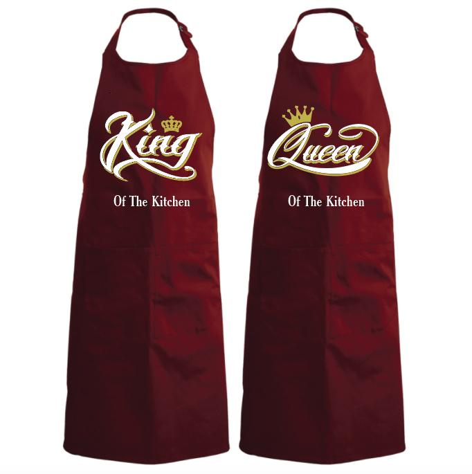 King & Queen smooth (set van 2) 01137