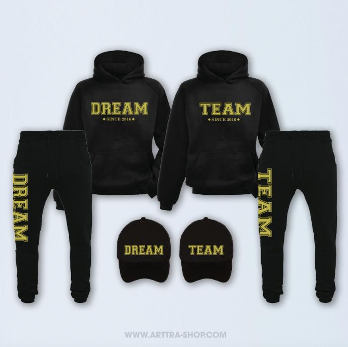 SET - Dream Team - zwart & goud 01260