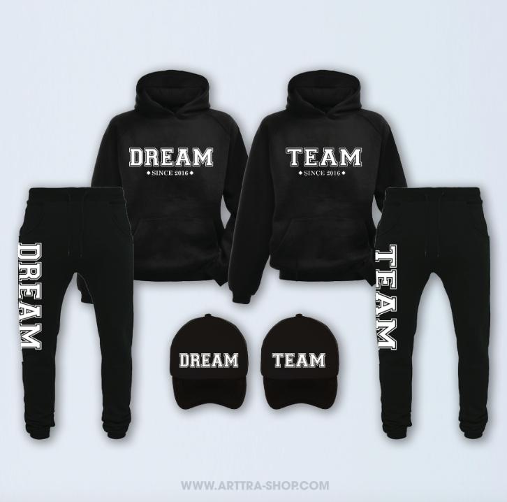 SET - Dream Team - zwart 01259