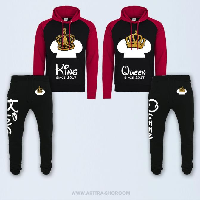 SET - King & Queen Fantasy Deluxe - ROOD 01629