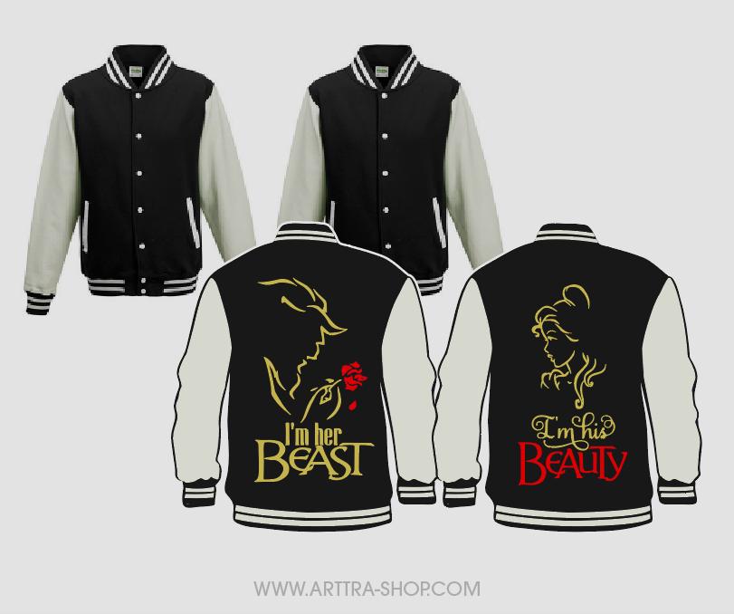 His Beauty & Her Beast - zwart (2st.) 01681