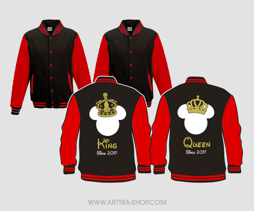 King & Queen Fantasy - rood (2st.) 01684