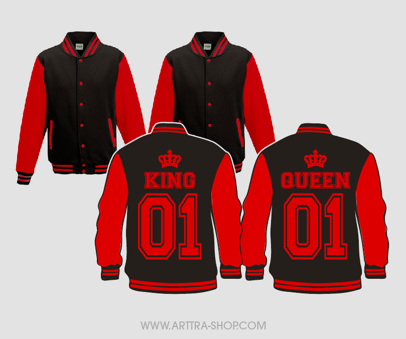 King & Queen - rood (2st.) 01685