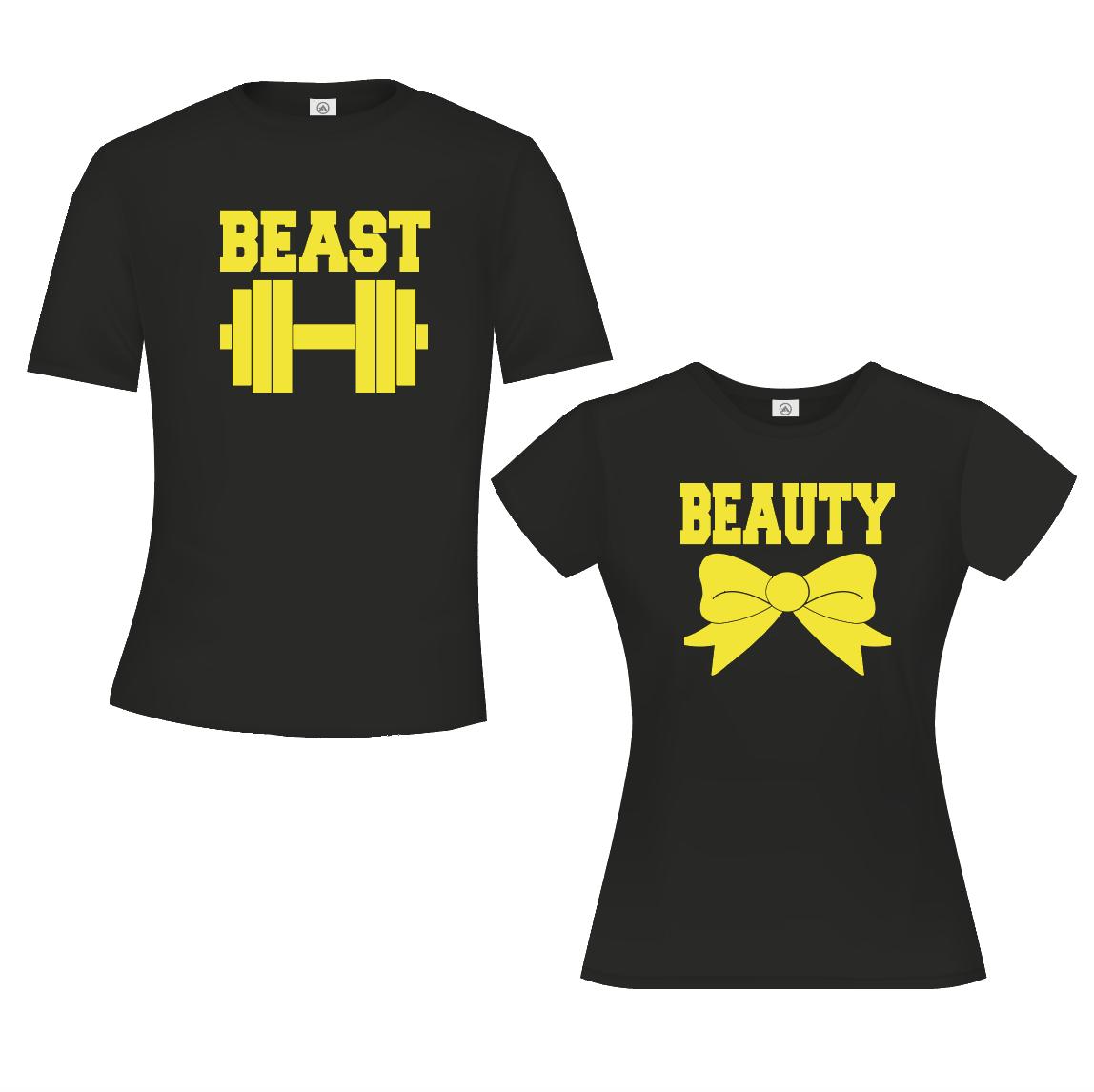 Beauty & Beast - Zwart & Geel 01933