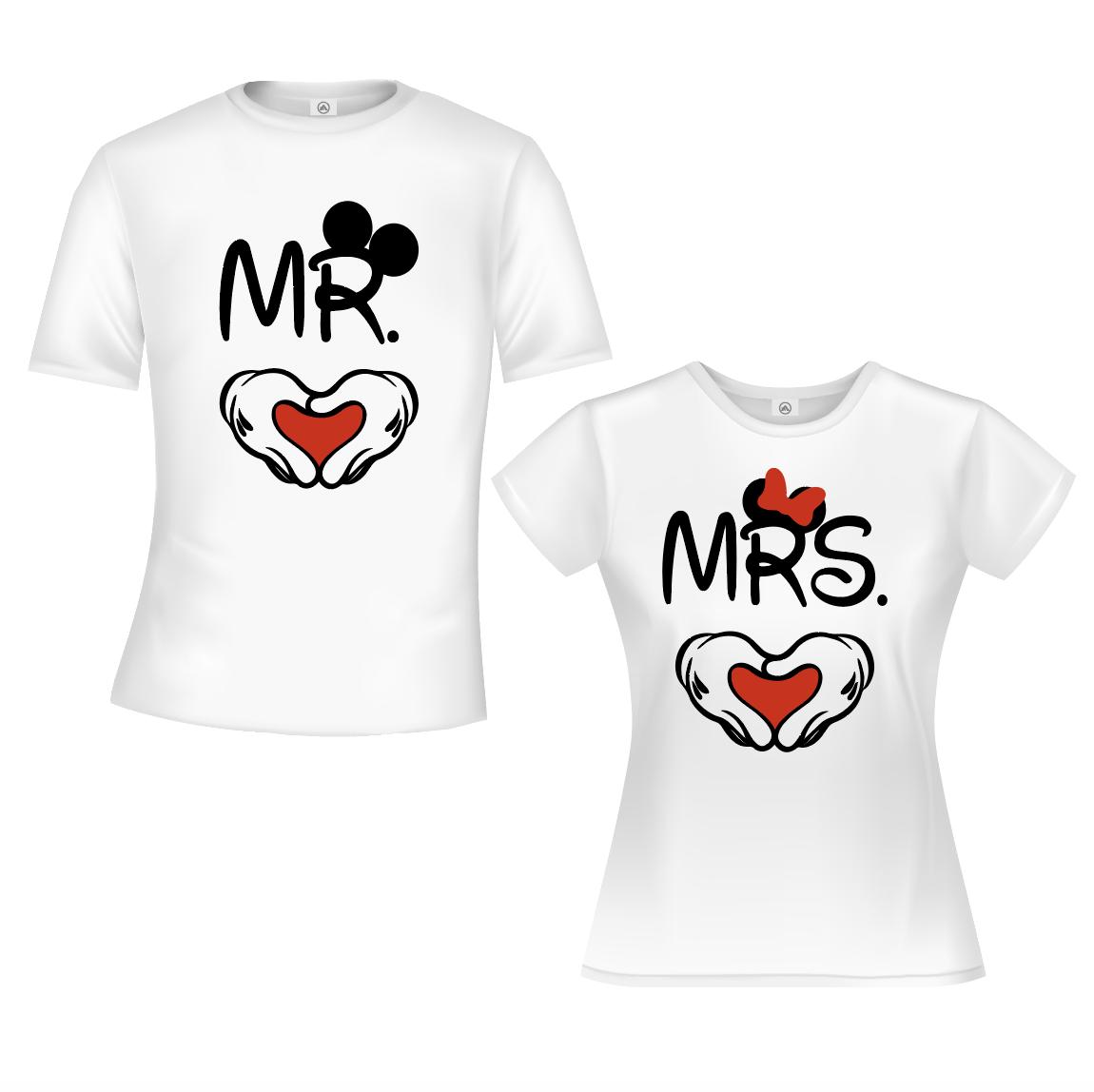 Mr & Mrs Heart - Wit 01936