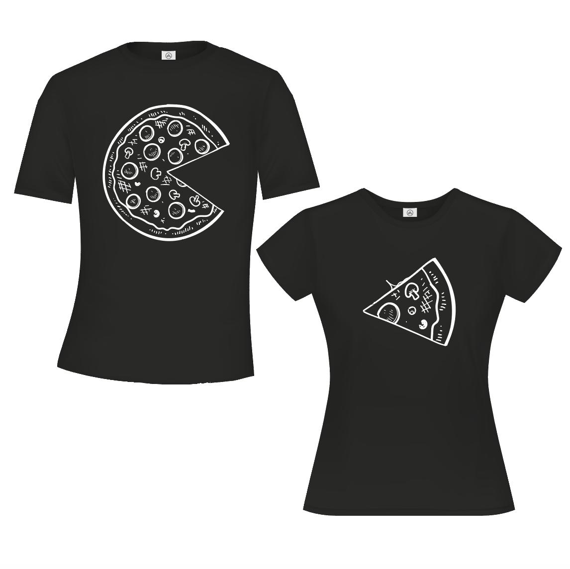 Pizza & Slice - Zwart 01947