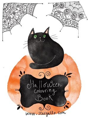 Halloween - Colouring Book (FREE)