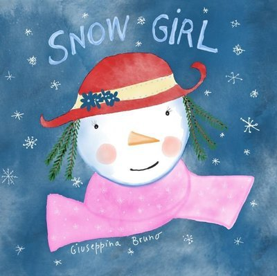 Snowgirl + colouring pages