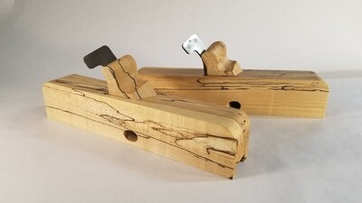 Spill Plane, Highly Figured Spalted Maple