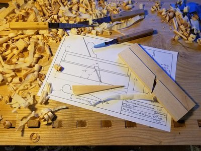 Down Payment for $475 Plane Making Class, May 28-30, 2020