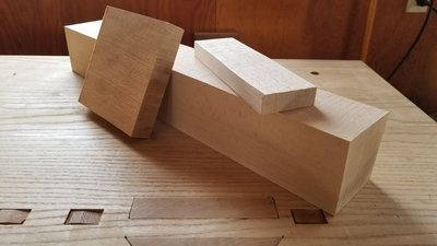European Beech Try Plane Billet