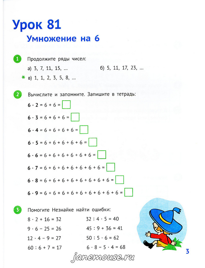 Математика 2 класс. Часть 3. Иванова Е.Ю.