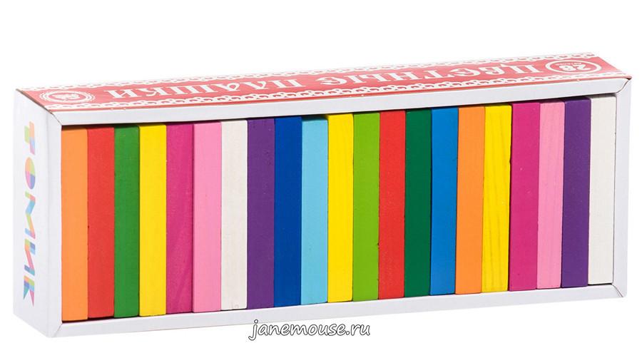 Цветные плашки (с заданиями)
