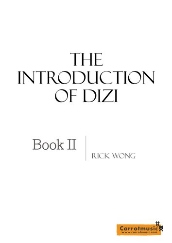 """""""The Introduction of Dizi"""" Book 2"""