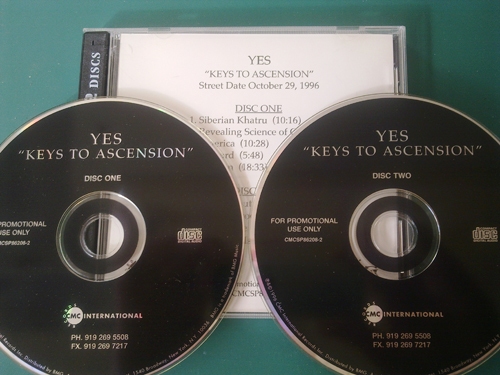 Yes - Keys To Ascension - Rare US 2xCD Promo