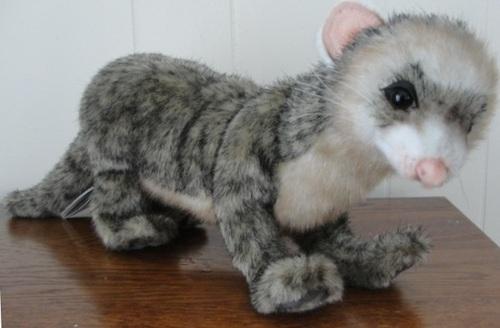 Hansa Wild Ferret Polecat Plush FAC-Hansa