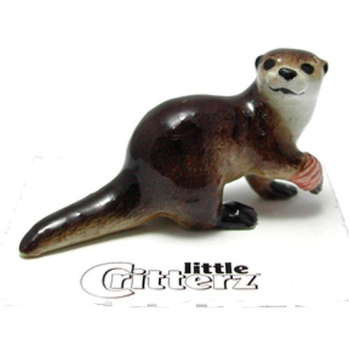 Otter with Bandage Little Critterz