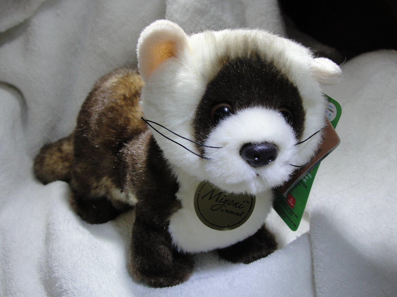 Aurora Miyoni Black Footed Ferret Plush