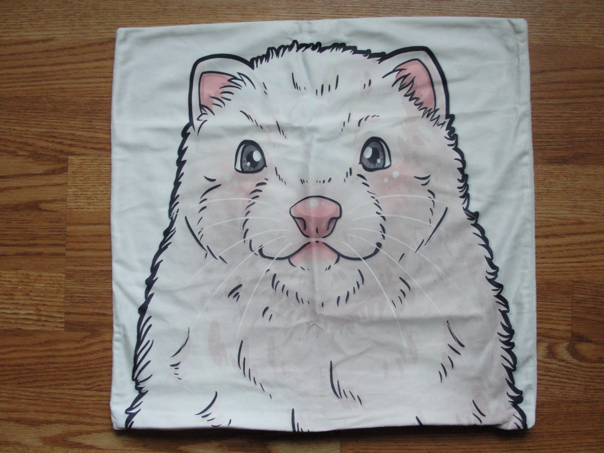 18 Inch Suede DEW Ferret Pillow Cover 1FT-PLW-DEW