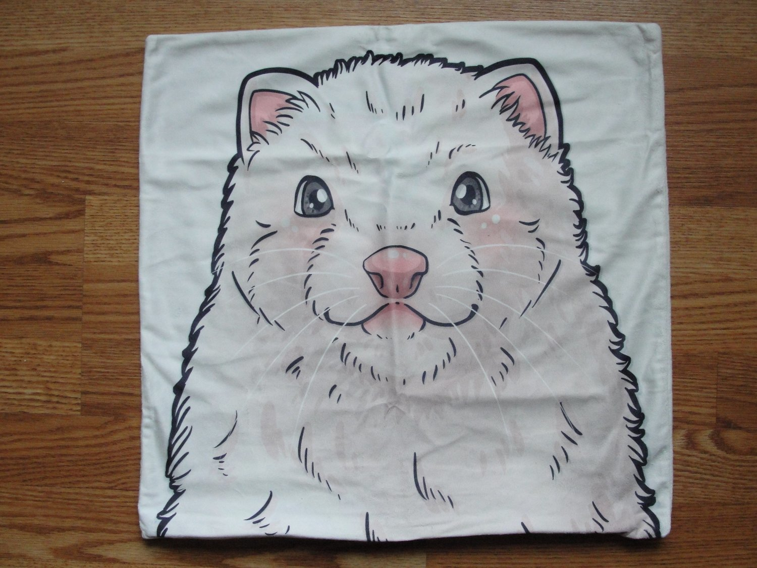 18 Inch Suede DEW Ferret Pillow Cover