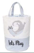 Otter Toy Bin Tote Beach Bag