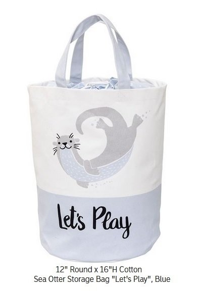 Otter Toy Bin - Tote