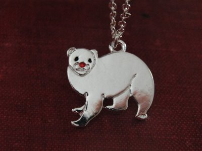 Shelter Ferret Necklace Series