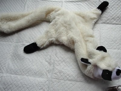 Fleecey 2 Squeaker Ferret or Dog Toy