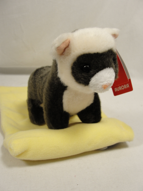 Aurora Baby Black Footed Ferret Plush FAC-BabyFerret