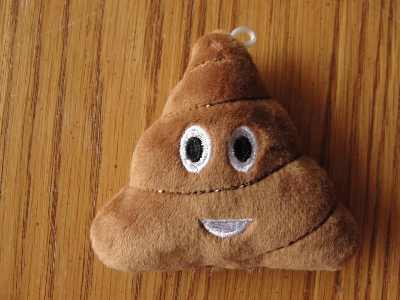 Emoji Poop Plush Toy for Ferrets