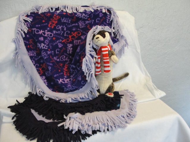Ferret Fringe Frenzy Sleep Blanket - Limited Edition