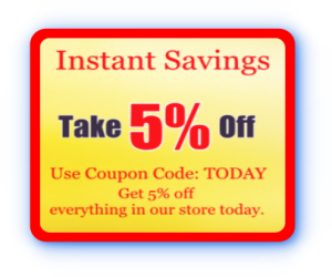 Instant Saving Coupon: TODAY