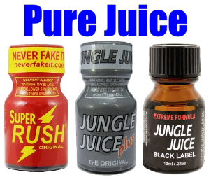 Pure Juice 3 PACK  (10ml)