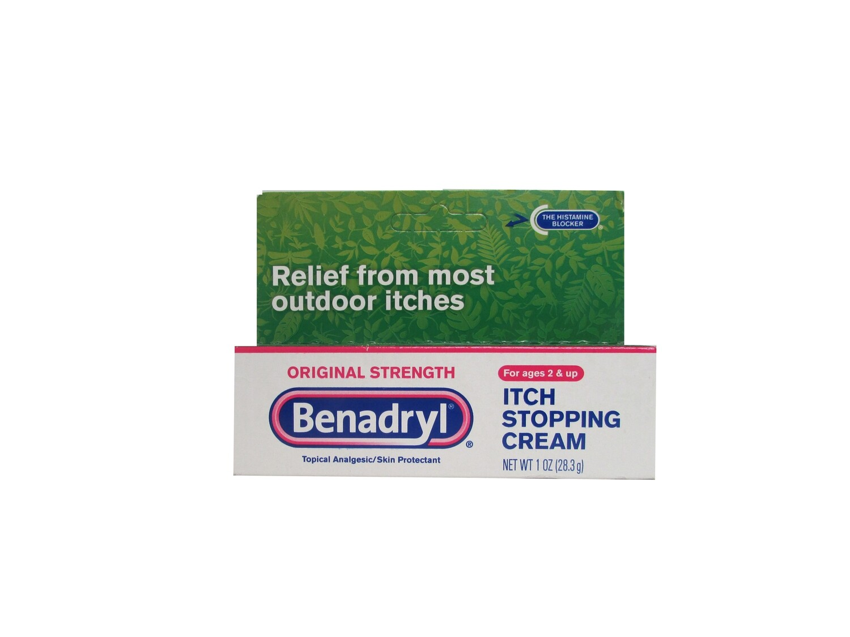 Benadryl Original Strength Itch Stopping Cream, 1 OZ