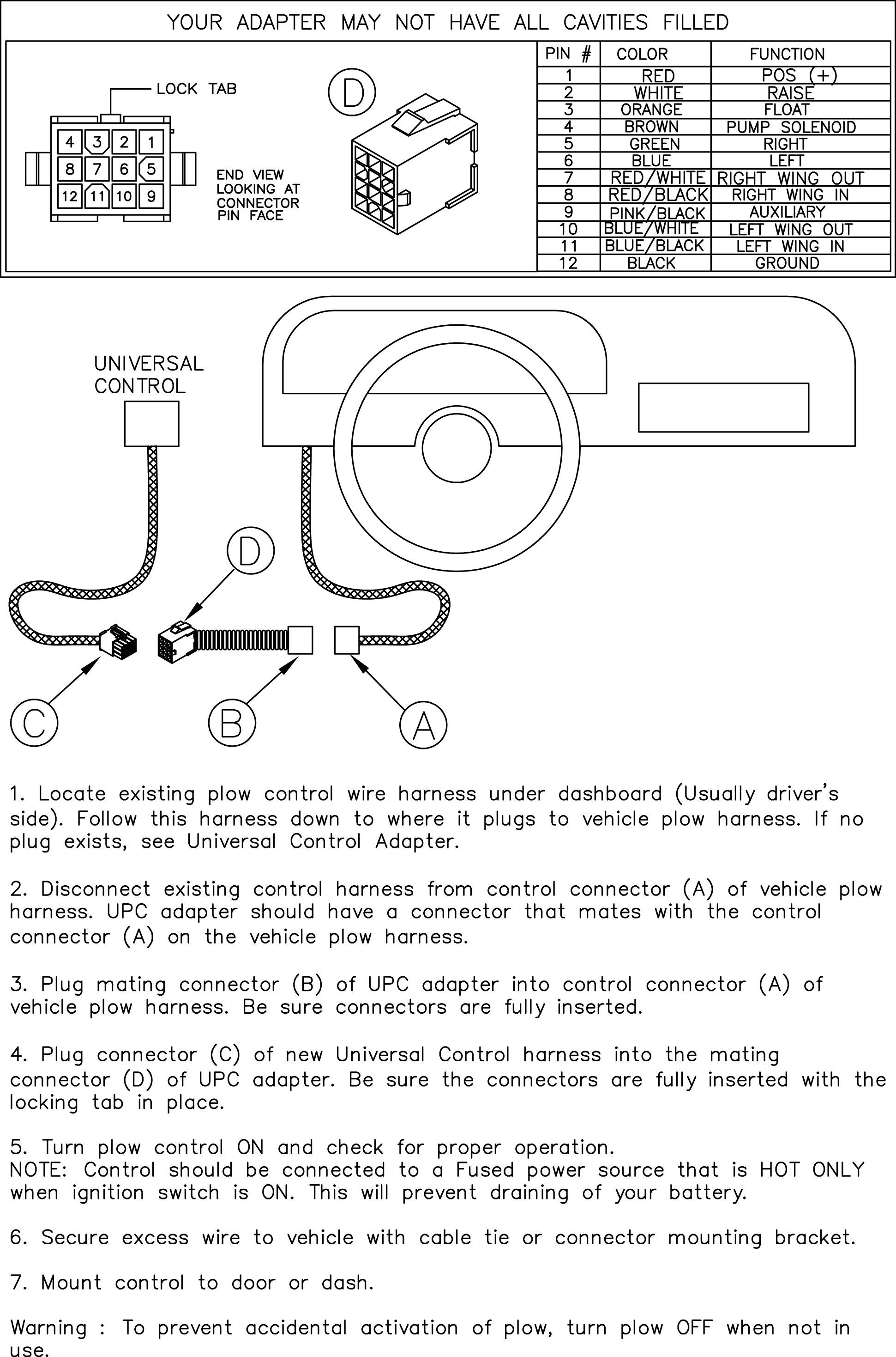 Plow Wiring Diagram Meyer Plow Light Wiring Diagram Western Plow Hand