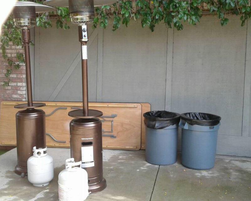 Trash Can Rentals 32 Gallon Los Angeles CA