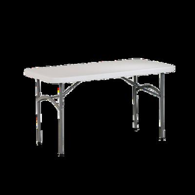 4u0027 Rectangular Resin Table Rental