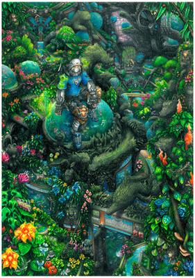 Synthetic Garden 1-3