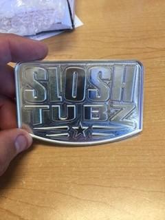 Billet Slosh Tubz badges