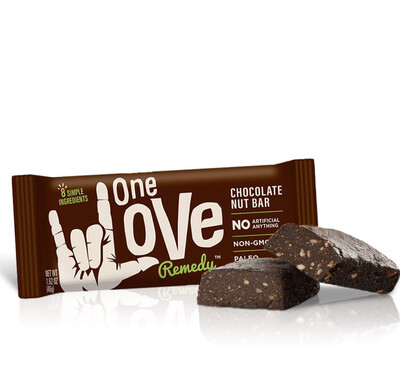 One Love Remedy Chocolate Nut Bar