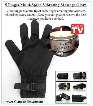 Vibrating Massage Glove